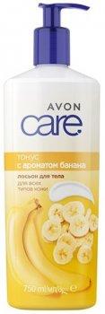 Лосьйон для тіла Avon Тонус з ароматом банана 750 мл (1378507) (ROZ6400103202)