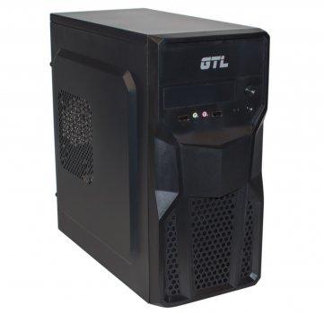 #177215 - Корпус GTL 1602 Black, 400W, 120mm, Micro ATX / Mini ITX, 2 x 3.5 mm, USB2.0 x 2, ODD x 1, HDD x 3, SSD x 1, 0.4 mm, 350x315x165, 3.3 kg