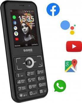 Мобільний телефон Sigma mobile X-Style S3500 sKai Black