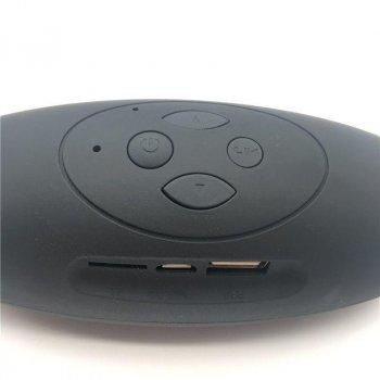 Портативна bluetooth колонка з флешкою і радіо Heonyirry mini X-6, червона