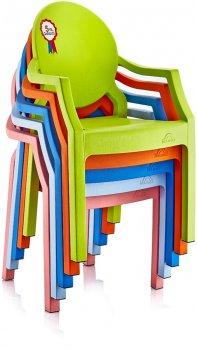 Кресло детское Irak Plastik Afacan Розовое 33x31x65 см (4838kmd)