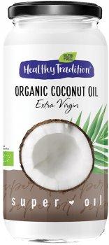 Кокосовое масло Healthy Tradition холодного отжима органическое 350 г (4820192430647)