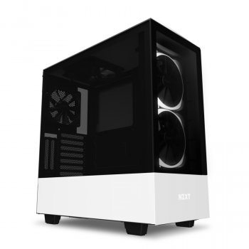 Корпус NZXT H510 Elite Matte White (CA-H510E-W1) без БЖ