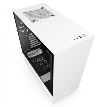 Корпус NZXT H510 Matte White-Black (CA-H510B-W1) без БЖ