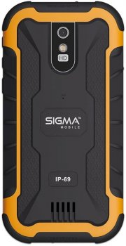 Sigma mobile X-treme PQ20 Dual Sim Black/Orange (4827798875421)