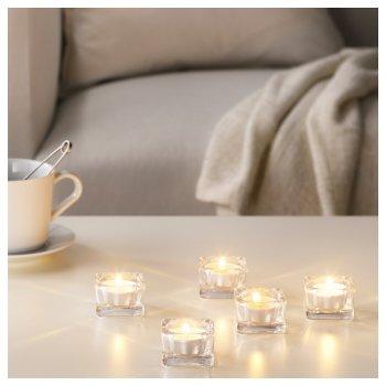 Набір ароматичних свічок IKEA SINNLIG Ніжна ваніль 30 шт 203.373.79