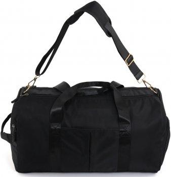 Дорожная сумка Traum 49х25х24 см Черная (7067-36)