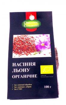 Семена льна органические Organic Country 300 г (4820200940236)