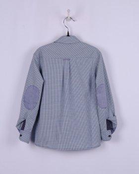Рубашка BoGi casual Зелено-черная клетка (001.010.0259.04)