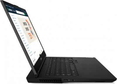 Ноутбук Lenovo Legion 5 17IMH05 (82B3006SRA) Phantom Black