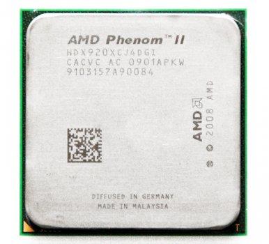 Процесор AMD Phenom II X4 920 4 ЯДРА, 2.8 GHz, s AM3 / AM2+, Tray ( HDX920XCJ4DGI ) Б/У