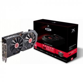 Xfx Pci-Ex Radeon Rx 580 Gts 8Gb Gddr5 (256Bit) (1366/8000) (Dvi, Hdmi, 3 X Display Port) (Rx-580P8Dfd6)