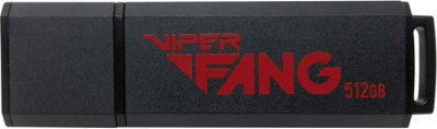 Patriot Viper Fang 512GB USB 3.1 Black (PV512GFB3USB)
