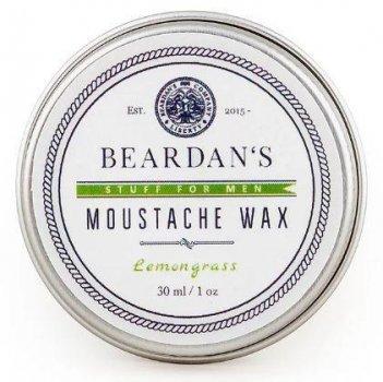 Віск для вусів Beardans, Lemongrass, 30 мл - R152345
