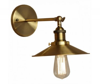 БРА CONE 20TH C. FACTORY FILAMENT GOLD