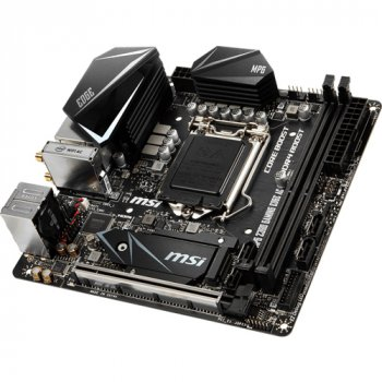Материнська плата MSI MPG Z390I GAMING EDGE AC (s1151, Intel Z390)