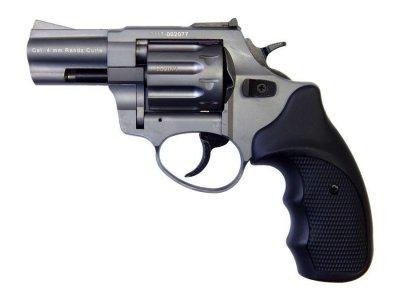 """Револьвер флобера STALKER 4 мм 2,5"""" (барабан: сталь / титан / черный пластик)"""
