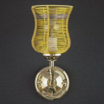 Бра настенное Light House 13895/1W CG GO BRN CL золото