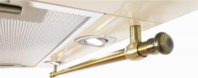 Luxor Fantom 2m V 60 Rustik KUP + гофротруба в комплекте бежевый, шампань, слоновая кость