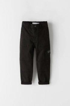 Штани-карго для хлопчика 5800 ZARA Чорний 43303