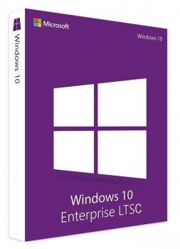 Операционная система для дома и малых организаций Microsoft Windows 10 LTSС многоязычная 32/64-bit 1ПК