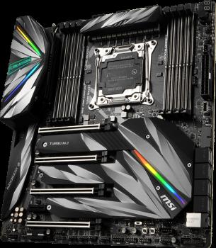 Материнська плата MSI X299 MEG Creation (s2066, Intel X299, PCI-Ex16)