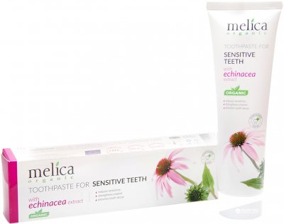 Зубная паста для чувствительных зубов Melica Organic, 100 мл (4770416002245)