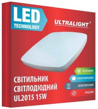 Настенно-потолочный светильник Ultralight UL 2015 15 Вт 4100 К (UL-49420)