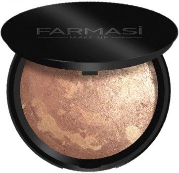 Бронзирующая запеченная пудра Farmasi Terracotta 16 - солнечный персик 10 г (1302473) (ROZ6400104436)