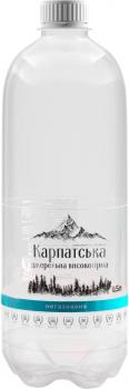 Упаковка питьевой негазированной воды Горянка Высокогорная родниковая 0.5 л х 12 бутылок (4820227100422)