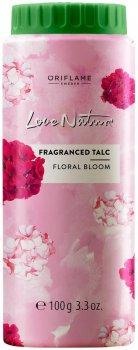 Тальк для тіла Oriflame Love Nature з квітковим ароматом 100 г (35551) (ROZ6400102687)