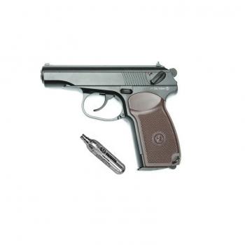 Пневматичний пістолет KWC PM (KWC KM44dhn) + баллончик со2 в подарунок