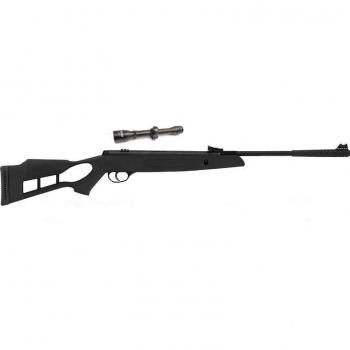Пневматична гвинтівка Hatsan Striker Edge з посиленою газовою пружиною ВП 4х32 + кулі в подарунок