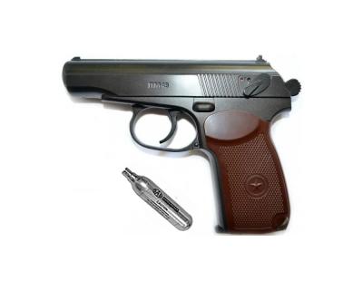 Пневматичний пістолет Borner PM49 + баллончик со2 в подарунок