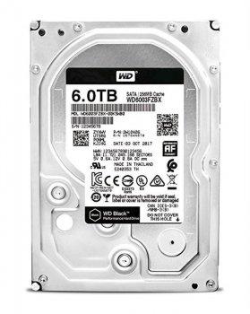 Накопичувач HDD SATA 6.0 TB WD Black 7200rpm 256MB (WD6003FZBX)