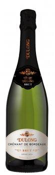 Вино игристое Dulong Cremant de Bordeaux Brut белое сухое 0.75 л 11.5% (5718147419344_3272810304341)