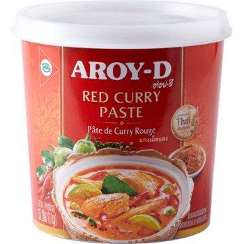 Паста карри Aroy-D красная 400г