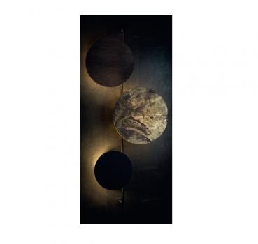 Настінний світильник Nowodvorski 9030 WHEEL GOLD