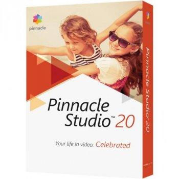 ПО для мультимедіа Corel Pinnacle Studio 20 Standard ML RU/EN for Windows (PNST20STMLEU)