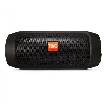 Портативна bluetooth колонка MP3 плеєр T&G E2 mini Чорна (E2 mini Black)