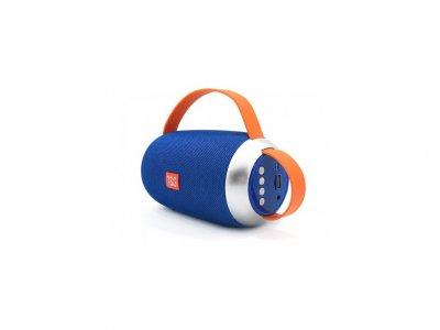 Портативна бездротова bluetooth стерео колонка T&G TG112 Синя (112 Blue)