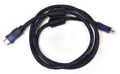 Кабель PowerPlant (KD00AS1180) HDMI-HDMI v1.4, 1.5 м, Black
