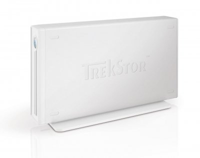 "Жорсткий диск Trekstor DataStation maxi m.ub 3.5"" 500Gb USB 2.0 (TS35-500MMUW) White Refurbished"