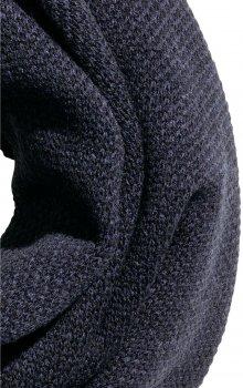 Снуд H&M 312829811 180 х 60 см Черно-синий меланж (PS2030000027149)
