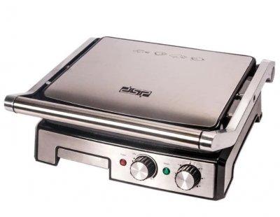 Електричний гриль DSP KB-1036 з антипригарним покриттям потужність 2000 Вт з регулюванням температури і таймером