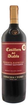 Вино Casillero del Diablo Reserva Cabernet красное сухое 0.75 л 13.5% (7804320746685)