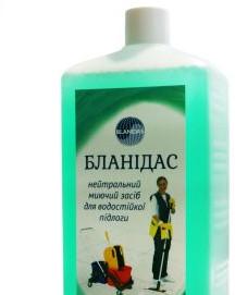 Бланидас - нейтральний миючий засіб для водостійких підлог, 1 л
