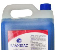 Бланидас - засіб для очищення санітарно-технічного обладнання, 5 л