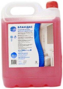 Бланидас - кислотний засіб для миття санітарних кімнат, 5 л