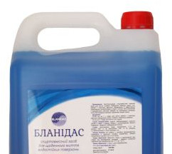 Бланидас - спиртосодержащее засіб для щоденного миття водостійких поверхонь, 5 л